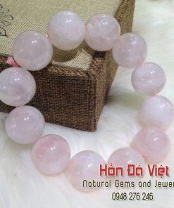 Vòng tay Thạch Anh Hồng (VTTAH16060)