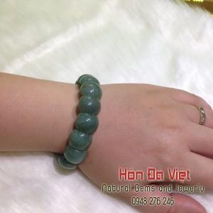 Vòng tay Thạch Anh Xanh (VTTAX99054)