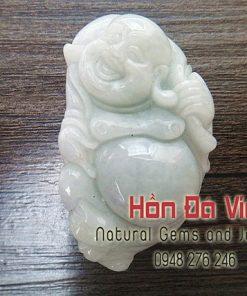 Mặt dây Di Lạc Ngọc Cẩm Thạch (MDNCT00036)