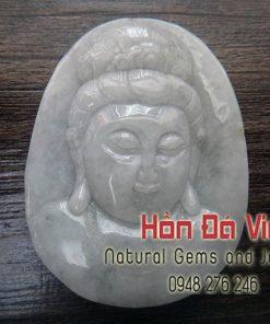 Mặt dây Phật bà Ngọc Cẩm Thạch (MDNCT00039)