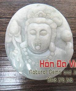 Mặt dây Phật Bà Ngọc Cẩm Thạch (MDNCT00040)