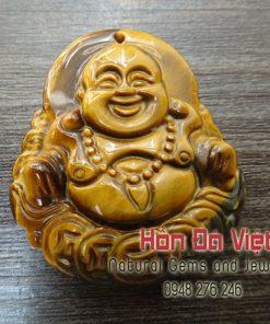 Mặt Dây Phật Di lạc Đá Mắt Hổ ( MDMH00055 )