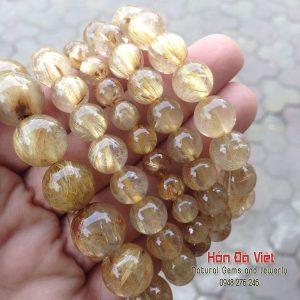 Vòng Tay Thạch Anh Tóc Vàng (VTTATV10091)