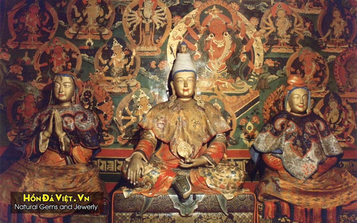 Công Chùa Văn Thành và Vua Tùng Tán Can Bố