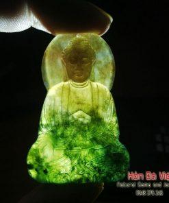Mặt Dây Phật Tổ Đá Mã não (MDMN00082)
