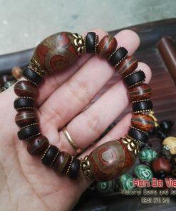 Vòng Tay Mã Não Lạt Ma Tây Tạng (VTMNLMTT00093)