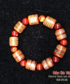 Vòng Tay Mã Não Lạt Ma Tây Tạng (VTMNLMTT00110)