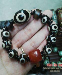 Vòng Tay Mã Não Lạt Ma Tây Tạng (VTMNLMTT00114)