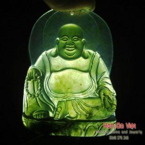 Mặt Dây Phật Di Lạc Mã Não (MDMN00152)