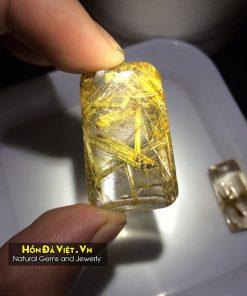 Mặt Dây Thạch Anh Tóc Vàng (MDTATV00149)