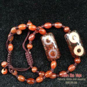 Vòng tay đá DZI Tây Tạng (VTDZITT00139)