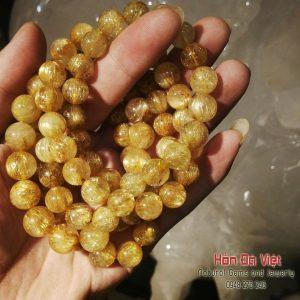 Vòng tay Thạch Anh Tóc Vàng 10mm (VTTATV100141)